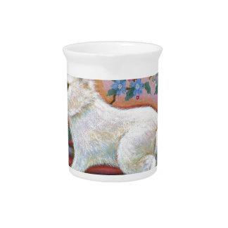 CarpeDiem White Rabbit Asian Design Drink Pitcher
