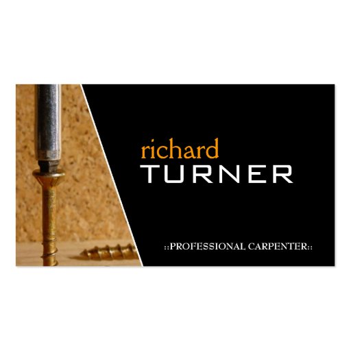 Carpenter and flooring business cards zazzle for Flooring business cards