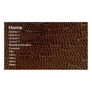 Carpenter ant - cheek Double-Sided standard business cards (Pack of 100)