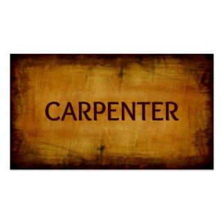 Carpenter Antique Brushed Business Card