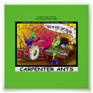 Carpenter Ants Funny Gifts Canvas Print