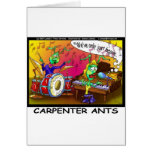 Carpenter Ants Funny Gifts & Collectibles Greeting Card