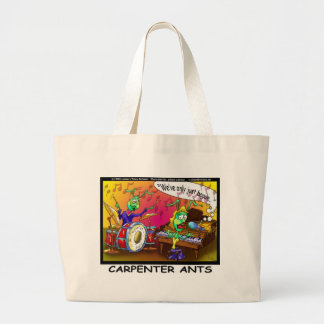 Carpenter Ants Funny Gifts & Collectibles Large Tote Bag