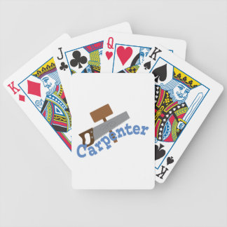 Carpenter Bicycle Playing Cards