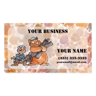 Carpenter Buisiness Card Double-Sided Standard Business Cards (Pack Of 100)
