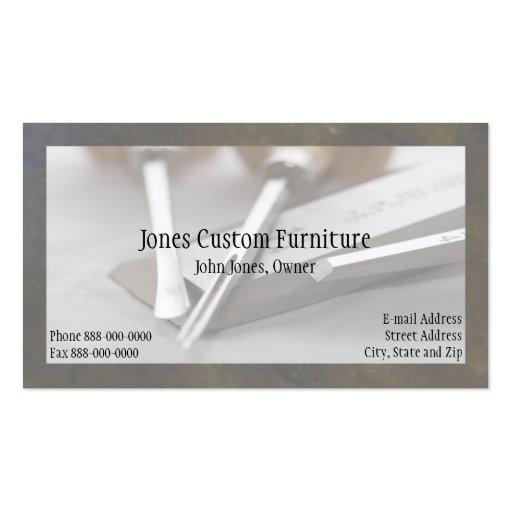carpenter business card zazzle
