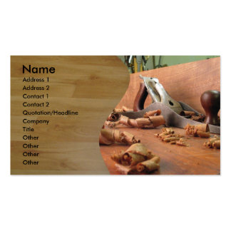 Carpenter Double-Sided Standard Business Cards (Pack Of 100)