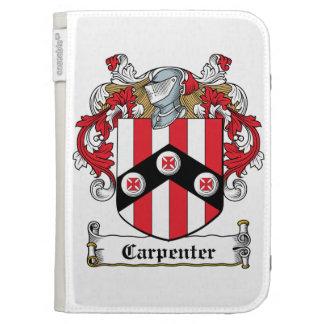 Carpenter Family Crest Kindle Case