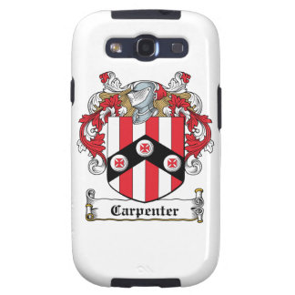 Carpenter Family Crest Samsung Galaxy S3 Cover