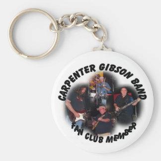 CARPENTER GIBSON FAN CLUB Key Chain