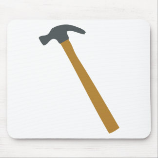 carpenter hammer mouse pad