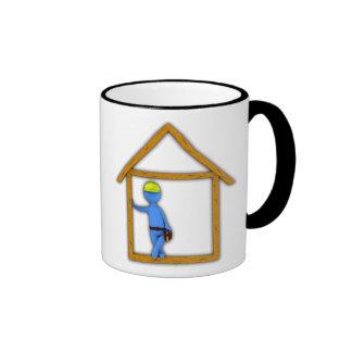 Carpenter Ringer Coffee Mug