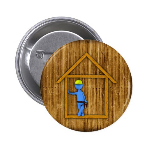 Carpenter Pinback Button