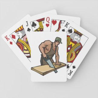 Carpenter Playing Cards