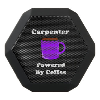 """Carpenter"" Powered by Coffee Black Bluetooth Speaker"