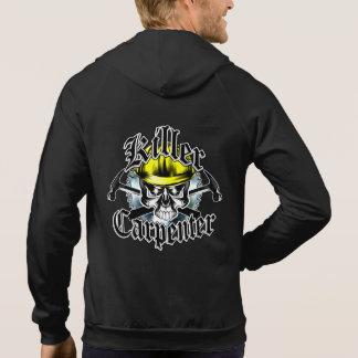 Carpenter Skull and Hammers: Killer Carpenter Hoody