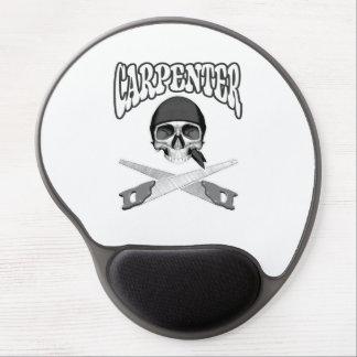 Carpenter Skull Handsaws Gel Mouse Pad