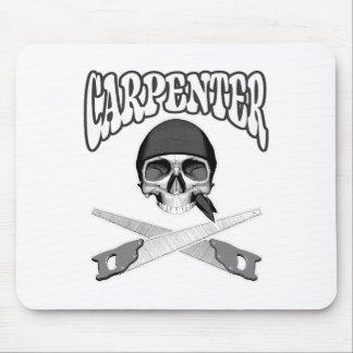 Carpenter Skull Handsaws Mouse Pad