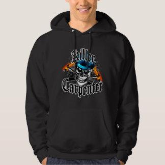 Carpenter Skull: Killer Carpenter Hoodie