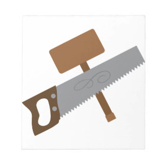 Carpenter Tools Notepad