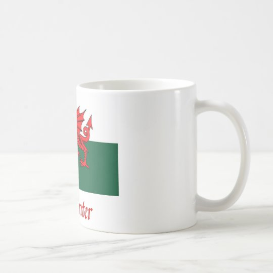 Carpenter Welsh Flag Coffee Mug