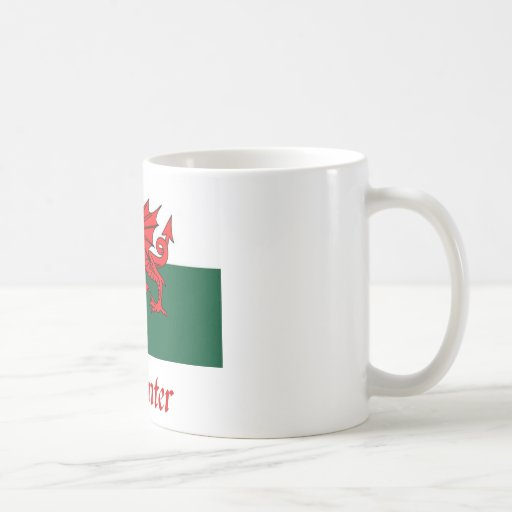 Carpenter Welsh Flag Mug