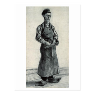 Carpenter with Apron Vincent van Gogh Post Cards