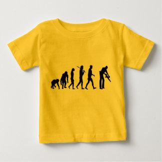 Carpenter woodworker set builder baby T-Shirt