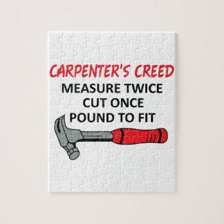 Carpenter's Creed Puzzles