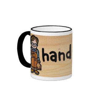 carpenter's cup. ringer mug