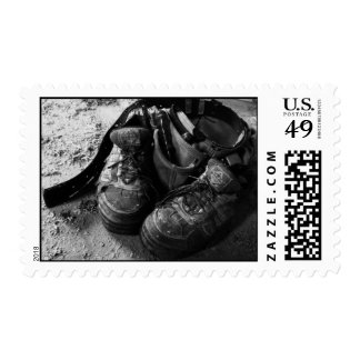 Carpenter's Pouch and Workboots Postage