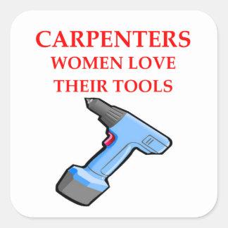 carpentrer square sticker