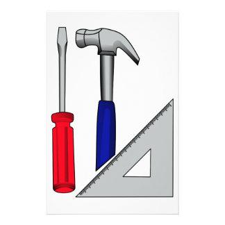 Carpentry logo stationery