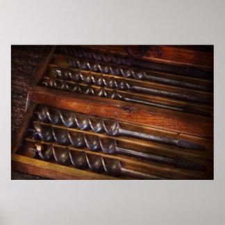 Carpentry - Tool - Archimedes little helper Poster