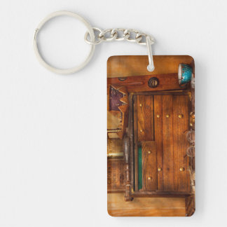 Carpentry - Tools - In my younger days Keychain