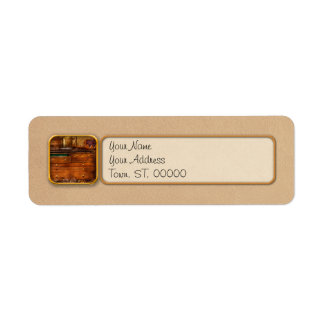 Carpentry - Tools - In my younger days Custom Return Address Labels