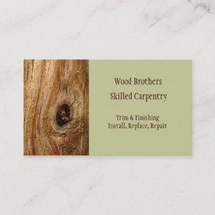 Cabinetry business cards zazzle carpentry woodwork business card template cheaphphosting Choice Image