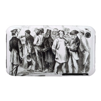 Carpet Baggers, late 1860s (engraving) (b/w photo) iPhone 3 Case