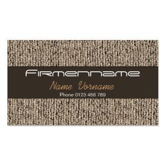 Carpet Business Card