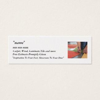 "carpet, "", Carpet, Wood, Lami... Mini Business Card"