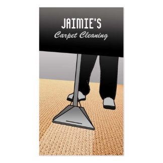 Carpet Cleaner Business Cards