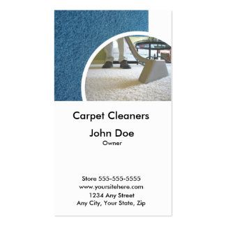 Carpet Cleaners Business Card