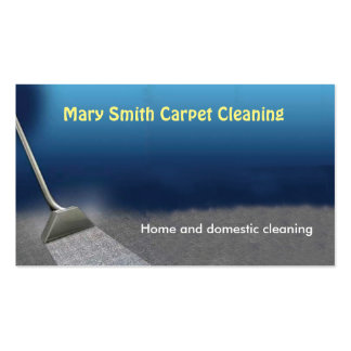 Carpet cleaning business cards templates zazzle for Carpet cleaning business cards