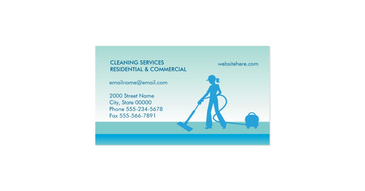 Carpet cleaning business card template zazzle for Carpet cleaning business cards