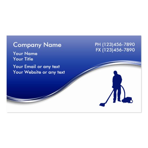 Carpet Cleaning Business Cards Zazzle