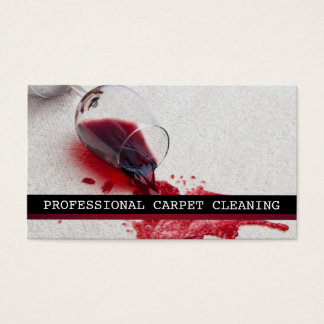 Carpet Cleaning, Flooring, Steamers Business Business Card