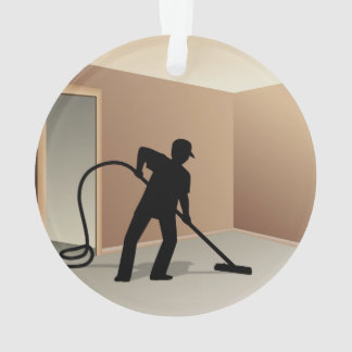 Carpet Cleaning Ornament