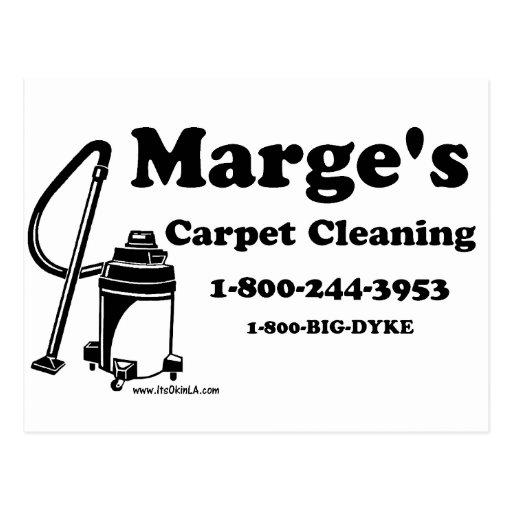 Carpet Cleaning Postcard