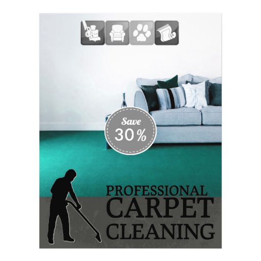 Carpet Cleaning Service Discount Offer Flyer Zazzle