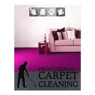 Carpet Cleaning Service Flyer